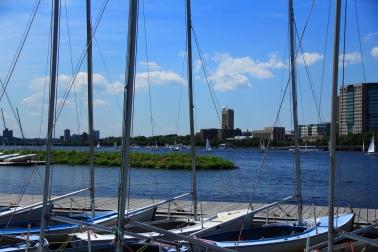 JUL: Sailing in downtown Boston